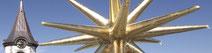 07/2021 Aussensanierung der Martinskirche Pfullingen wird am Chordach erfolgreich abgeschlossen