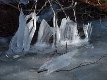 Eis Winter Reise Mecklenburg Vorpommern See zugefroren Silvester