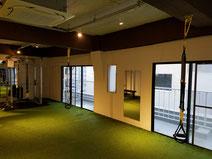 大阪のレンタルジムでTRXも利用できます