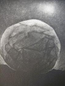 Piedra, grabado a la manera negra