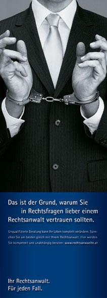 In Rechtsfragen lieber einem Rechtsanwalt vertrauen