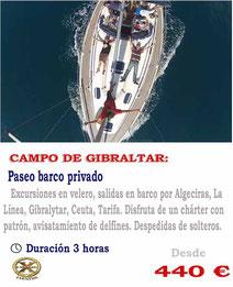 Paseo en barco Gibraltar