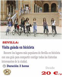 Ruta en bicicleta Sevilla