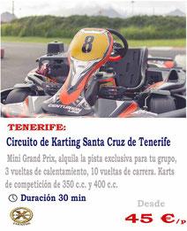 Circuito de karts en Tenerife