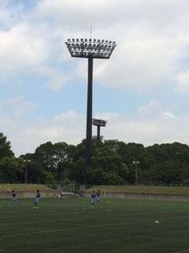 ナイトゲームができる大井ふ頭スポーツ公園
