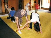Prácticas en movimiento con bambú