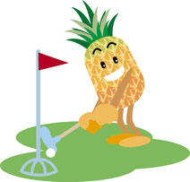 ヤンバルでパークゴルフ