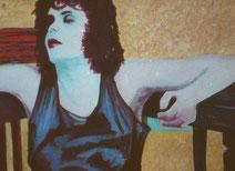 zittende vrouw 1989