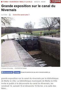 L'Yonne Républicaine 08/02/3014