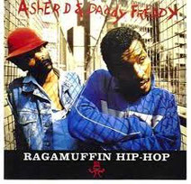 "Asher D et Daddy Freddy ""Raggamuffin Hip Hop"" LP"