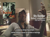 Sly Dunbar (Sly and Robbie) Batteur, producteur
