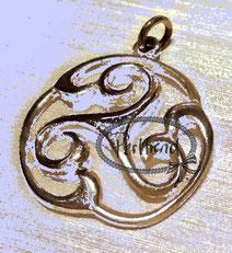 Anhänger Schmuck Silber Keltisch