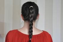 5 Minuten Frisuren mit Haaraccessoires von InCaseOfBeauty schnelle Frisuren einfache DIY Frisuren Frisuren Anleitung Beautyblog Modeblog Nähblog Fairy Tale Gone Realistic