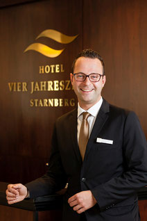 Tobias Baumann  Director of Sales & Marketing  HOTEL VIER JAHRESZEITEN STARNBERG