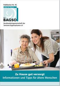 Zu Hause gut versorgt BAGSO