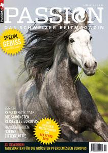 Titelseite PASSION Frühling 2016