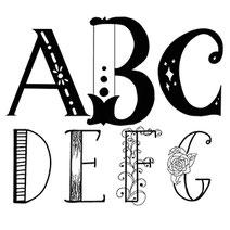 Handlettering Definition: Buchstaben zeichnen