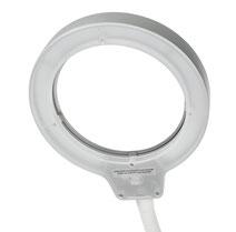 LED Flexarmlupenleuchte RLL FLEX Ringlicht aus
