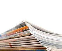 Magazinstapel - PR-Agentur
