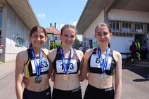 U18W 200m Podest (Bild: Lara Lächele)