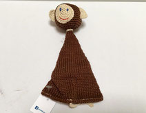 "Singe ""triangle"" au crochet - 25€"
