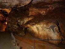 Les grottes de Pech Merle, à proximité de la vallée du Lot.