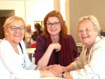 Magdalena Köster, Isabel Rohner, Marlies Hesse