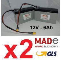 BC1260-PB + conector XT60