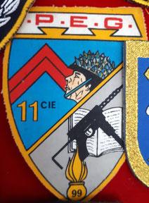 Patch de la 11e Cie (Fonds TANGUY)