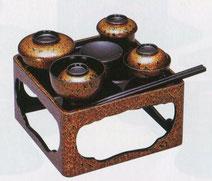 木製 仏膳(金虫)