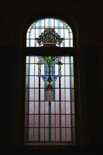 名古屋市市制資料館のステンドグラス