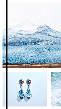 Ohrringe classy crystals www.juliakubitza.com