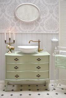 Waschtisch fürs Badezimmer im Art Déco Look