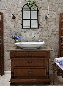 Badmöbel-Waschkommode antik