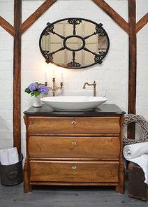 Waschkommode Landhaus antik