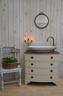 Badezimmermöbel Art Déco Waschtisch