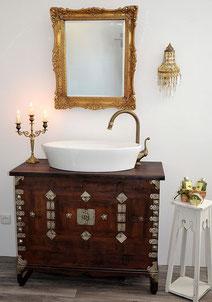 Kolonial-Badmöbel Waschkommode