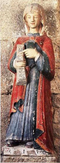 Sainte Eugienne XVI siècle