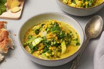 Mangold-Curry, veganes Mangold-Curry, veganes Curry, veganes Essen, veganes Rezept, vegan kochen, vegan essen, vegane Ernährung, Mangold, Curry, Curry-Rezept, Rezept für veganes Curry, gesundes Essen