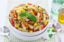 Geprüfte IN FORM-Rezepte, IN FORM, Blitzrezept, schnelles Rezept, einfaches Rezept, schnelle Zubereitung, schnell kochen, gesunde Ernährung, gesundes Essen, gesund essen, gesundes Rezept, Paprika-Pasta, Paprika, Pasta, Nudeln, Pastarezept, Nudelgericht