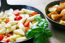 Geprüfte IN FORM-Rezepte, IN FORM, DGE, vegetarisch, vegetarisch kochen, vegetarisch essen, vegetarisches Essen, vegetarisches Rezept, vegetarische Küche, gesunde Ernährung, Ernährung, Gesundheit, Spargelsalat, Spargel, Salat, Salatrezept, italenisch