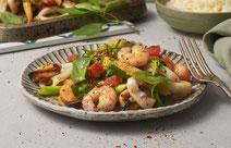 Meeresfrüchte-Pfanne, Meeresfrüchte, Meeresfrüchte zubereiten, Meeresfrüchte Zubereitung, Rezept mit Meeresfrüchten, Meeresfrüchte kochen, kochen mit Meeresfrüchten, gesundes Essen, gesundes Rezept, gesunde Ernährung