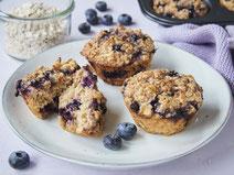 Geprüfte IN FORM-Rezepte, IN FORM, Blitzrezept, schnelles Rezept, einfaches Rezept, schnelle Zubereitung, schnell kochen, gesunde Ernährung, gesundes Essen, gesund essen, gesundes Rezept, Muffins, Muffinrezept, Frühstück, gesundes Frühstück, Muffin-Rezept