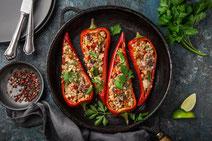 Geprüfte IN FORM-Rezepte, IN FORM, DGE, vegetarisch, vegetarisch kochen, vegetarisch essen, vegetarisches Essen, vegetarisches Rezept, vegetarische Küche, gesunde Ernährung, Ernährung, Gesundheit, Gemüse, Gemüse mit Couscous, Couscous