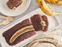 Geprüfte IN FORM-Rezepte, IN FORM, DGE, vegan, veganes Rezept, vegan kochen, vegane Ernährung, vegan essen, gesunde Ernährung, Ernährung, Gesundheit, veganes Bananenbrot, Bananenbrot-Rezept, Rezept für veganes Bananenbrot, veganes Frühstück, Bananen