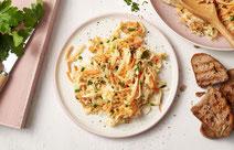 Kohlrabi-Möhren-Salat, Kohlrabi, Möhren, Salat, vegetarischer Salat, Salat-Rezept, vegetarisches Salatrezept, Möhrensalat, vegetarisches Rezept, vegetarisches Essen, gesunder Salat, Gemüse