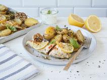 Geprüfte IN FORM-Rezepte, IN FORM, Blitzrezept, schnelles Rezept, einfaches Rezept, schnelle Zubereitung, schnell kochen, gesunde Ernährung, gesundes Essen, gesund essen, gesundes Rezept, Zitronen-Hähnchenbrust, Hähnchen, Geflügel, Fleisch, Mittagessen