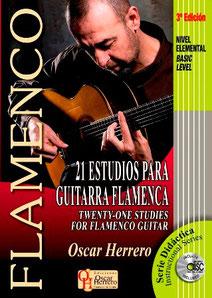 21 Estudios para Guitarra Flamenca