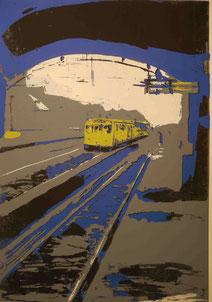Görlitzer Bahnhof, Lithographie