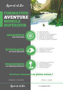 Stage formation aventure survie week-end 150€